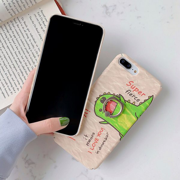 Painting Dinosaur iPhone 7 Plus Case
