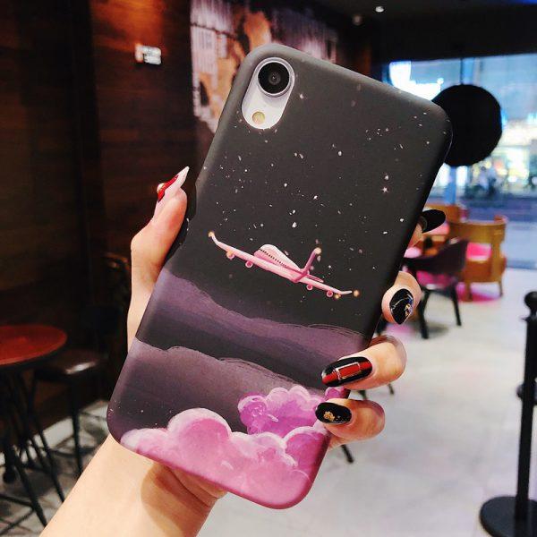 Pink Scenery iPhone X Case - FinishifyStore