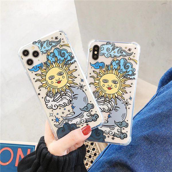Sun Painting iPhone X Case