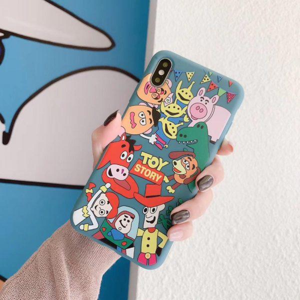 Cartoon Toy Story Family iPhone Case - FinishifyStore