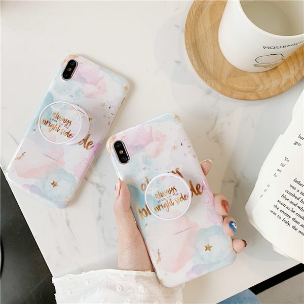 Watercolor Marble iPhone Case - FinishifyStore