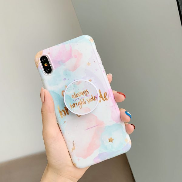 Watercolor Marble iPhone X Case - FinishifyStore