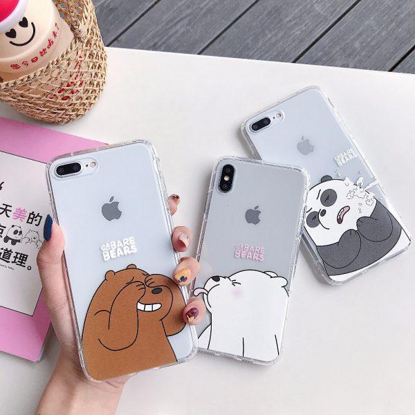 Cartoon We Bare Bears iPhone Case