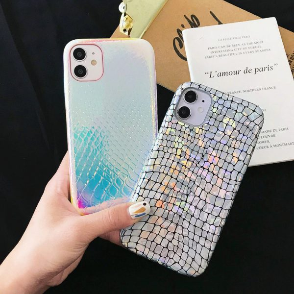 Holographic Skin iPhone Case - FinishifyStore