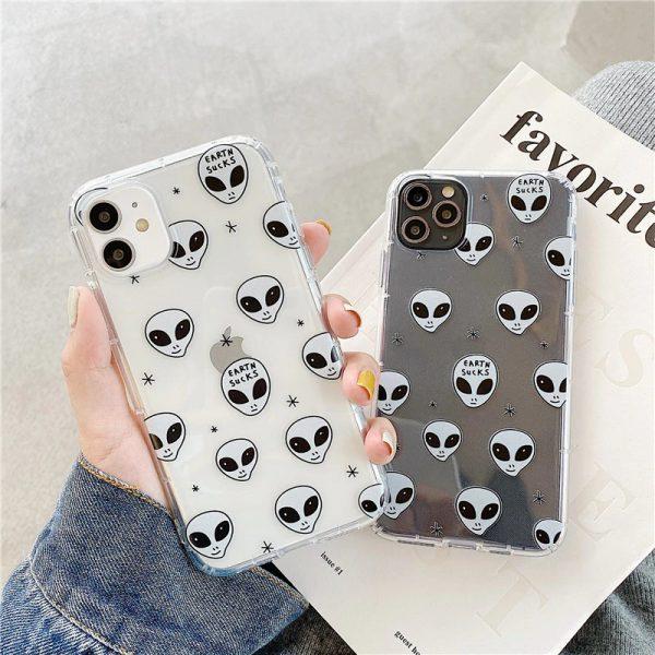 Alien Design iPhone 11 Case - FinishifyStore