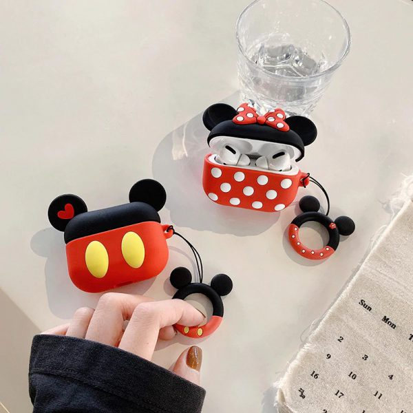 Cute Cartoon Mickey Mouse Airpods Pro Cases