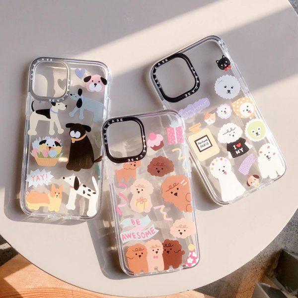 Cute Cartoon Pets Design iPhone Case - FinishifyStore