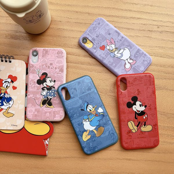 Daisy Duck Design Case for iPhone XS