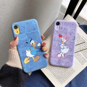 Daisy Duck Design iPhone Xs Case