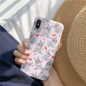 Lovely Pink Rabbit iPhone Case - FinishifyStore