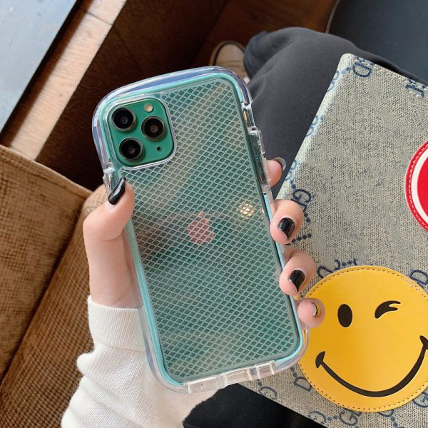 Mesh Grid Armor iPhone Case - FinishifyStore