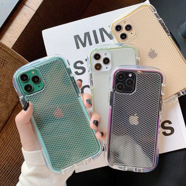 Mesh Grid Armor iPhone 11 Pro Max Case - FinishifyStore