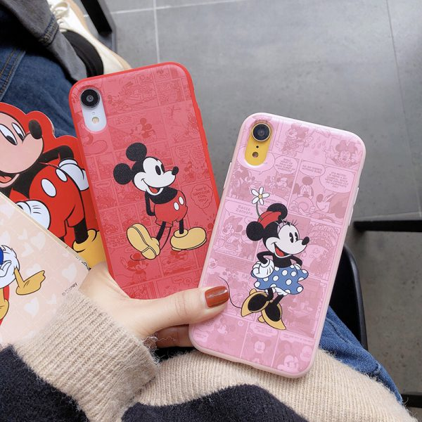Mickey Mouse Design iPhone XR Case