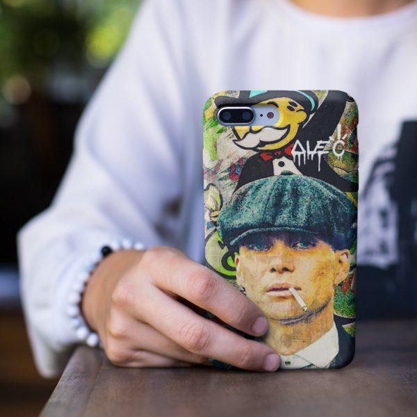 Peaky Blinder Alec Monopoly Art iPhone Case