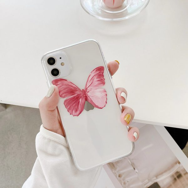 Pink Butterfly iPhone 11 Case