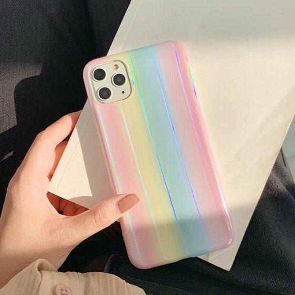 Rainbow Marble iPhone 11 Pro Max Case - FinishifyStore