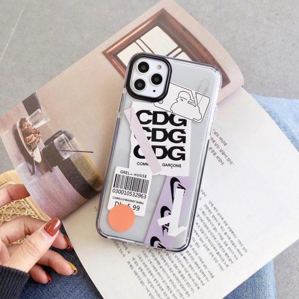 Label Design Shockproof iPhone 11 Pro Max Case