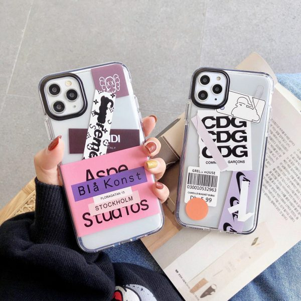 Shockproof Label iPhone 11 Pro Max Case