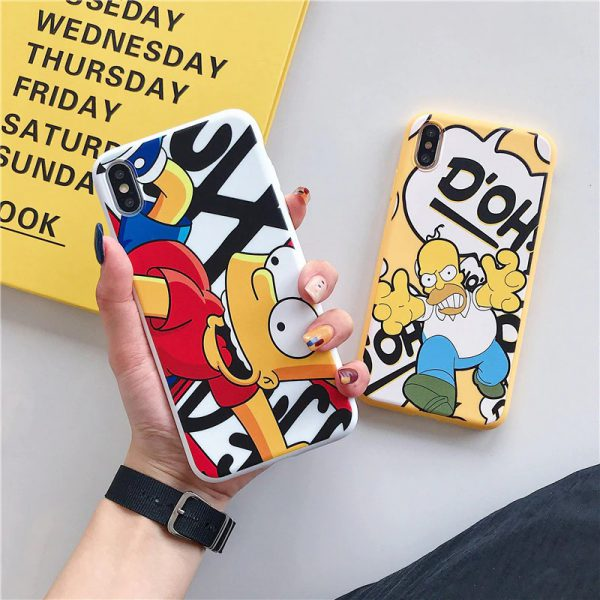 Simpsons Design iPhone X Case
