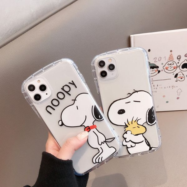 Snoopy Clear iPhone Case - FinishifyStore