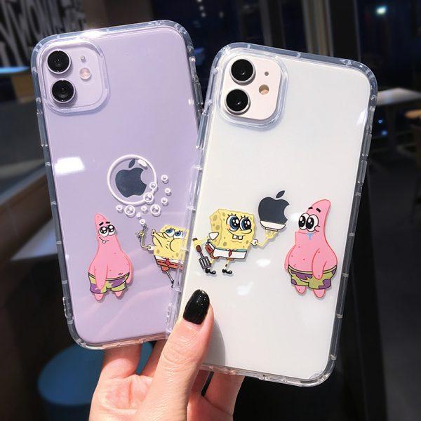 SpongeBob Design Cartoon iPhone 11 Pro Case