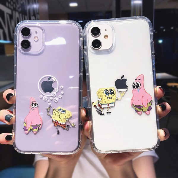 SpongBob Design iPhone 11 Case