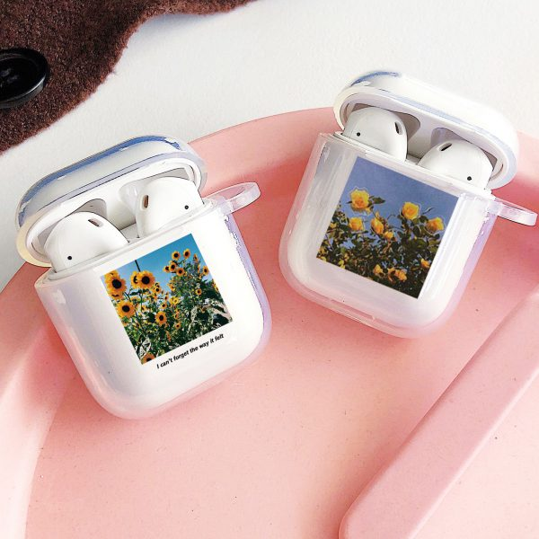 Sunflower Design AirPods Cases - FinishifyStore