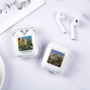 Sunflower Design AirPods Case - FinishifyStore