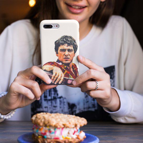 Tony Montana Painting Art iPhone 7 Plus Case