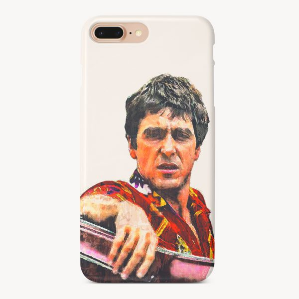 Tony Montana Painting iPhone 7 Plus Case