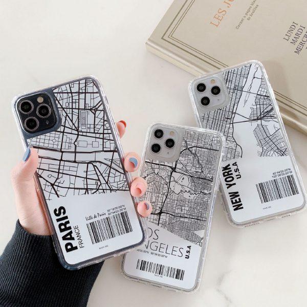 Map iPhone Case - Finishifystore
