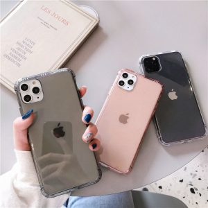 Anti Shock Clear iPhone 11 Pro Max Cases - FinishifyStore