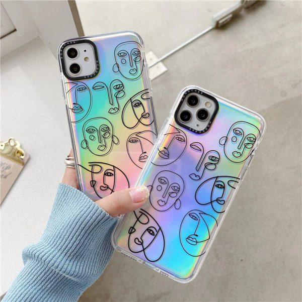 Holographic Art iPhone Case - FinishifyStore