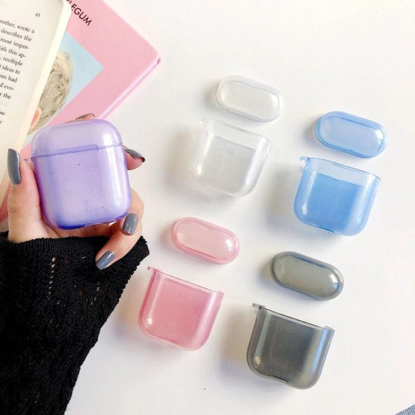 Crystal Clear AirPods case - FinishifyStore