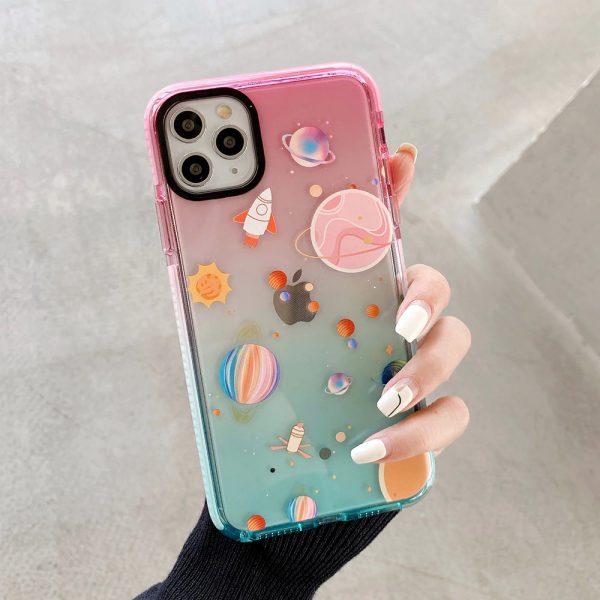Gradient Planet iPhone 11 Pro Case - FinishifyStore