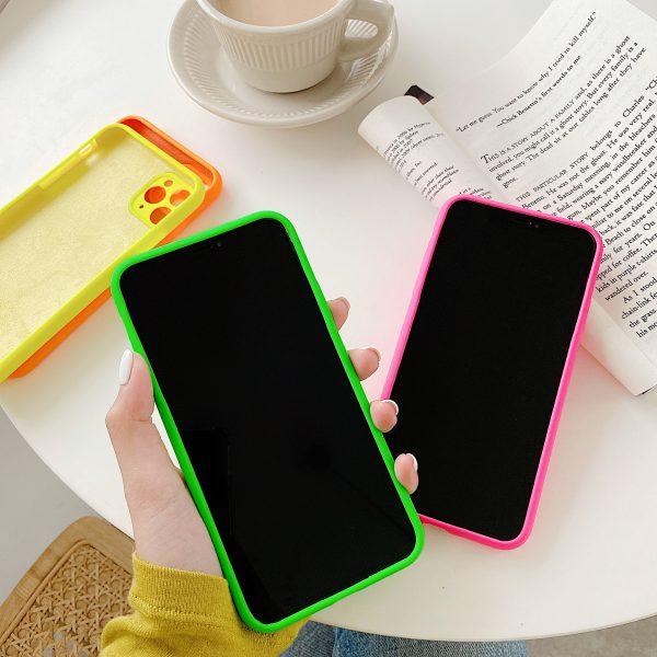 Love Heart Silicone Colors iPhone 11 Pro Max Cases - FinishifyStore