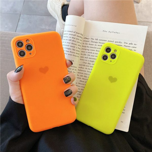 Neon Colors Silicone iPhone 11 Pro Max Cases - FinishifyStore