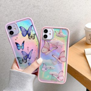 Holographic Butterfly iPhone 11 Pro Case - FinishifyStore