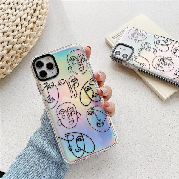 Holographic Art iPhone 11 Pro Max Case - FinishifyStore