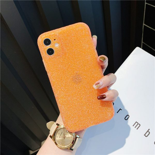 Jelly Neon Orange iPhone Case - FinishifyStore