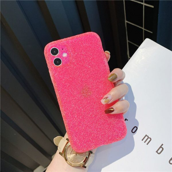 Jelly Neon Pink iPhone 11 Case - FinishifyStore