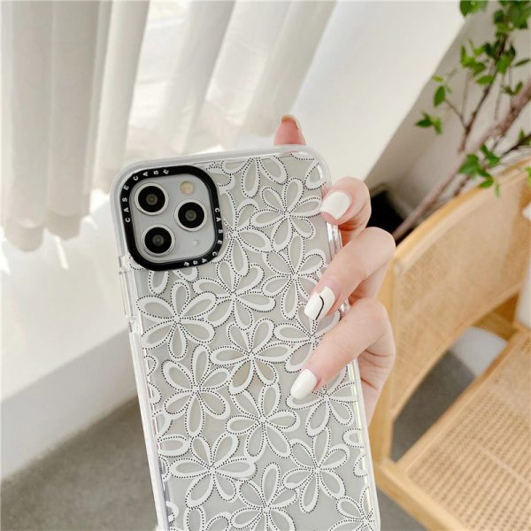 Lace flower Design iPhone Case - FinishifyStore