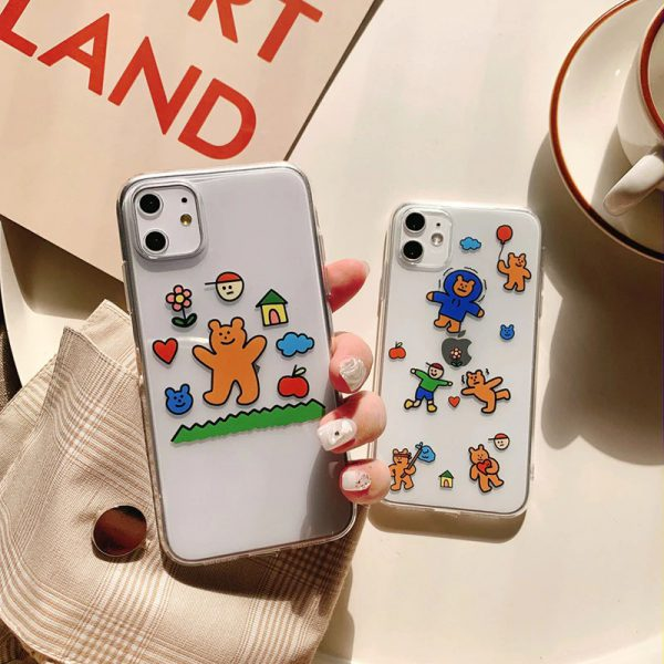 Lovely Bears iPhone 11 Pro Case - FinisihfyStore