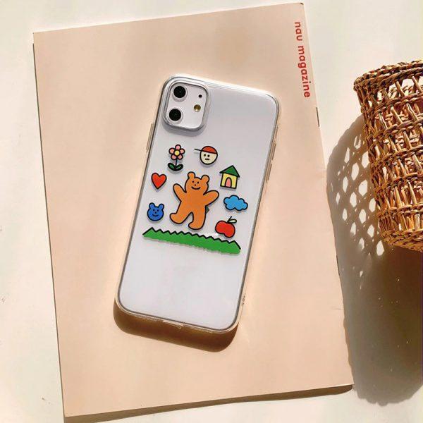 Lovely Bears iPhone X Case - FinishifyStore