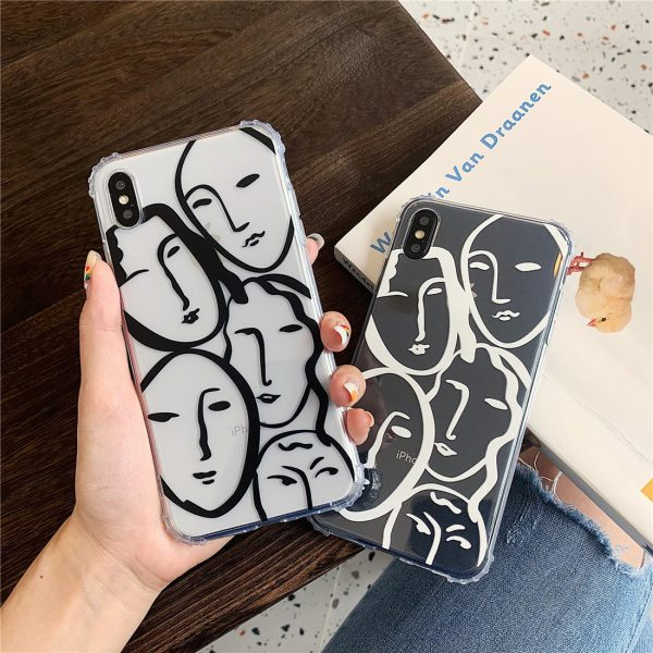 Lovely Line Art iPhone Case - FinishifyStore