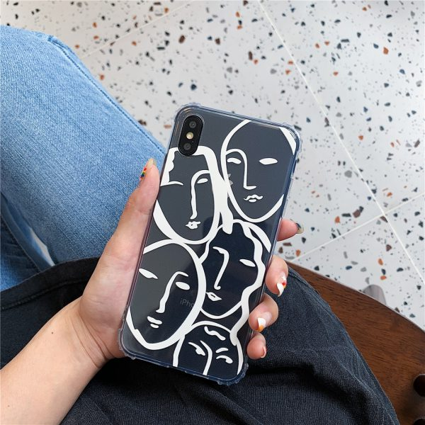 Lovely Line Art iPhone X Case - FinishifyStore