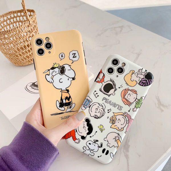 Peanuts graphic iPhone 11 Pro Max Case - FinishifyStore