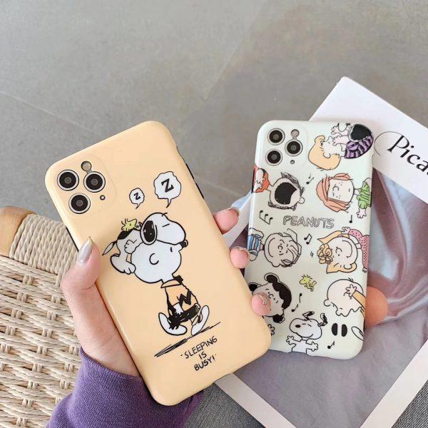 Peanuts graphic iPhone Case - FinishifyStore