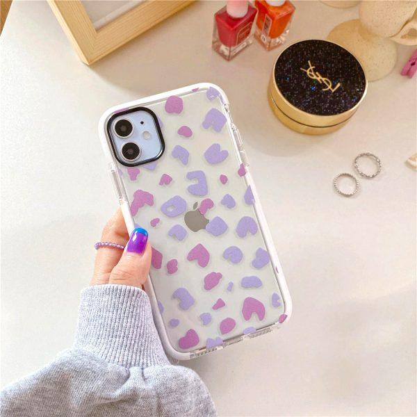 Purple Spots iPhone Case - FinishifyStore