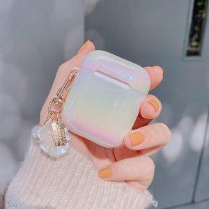 Cute Rainbow Pearl Airpods Case
